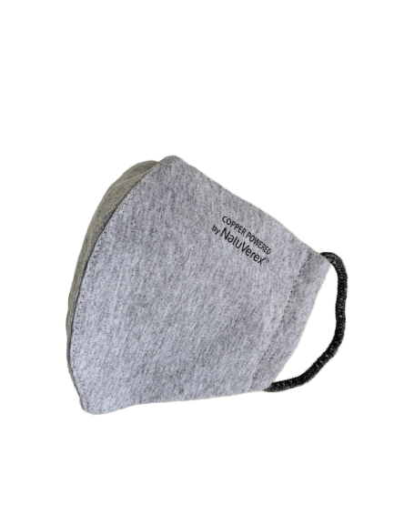 Athlete Gray Face Mask